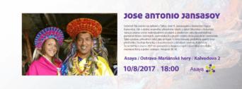Beseda s kolumbijským šamanem Jose Antonio Jansasoyem flyer