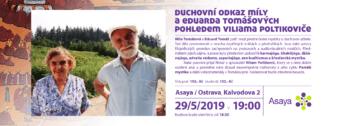 Duchovní odkaz M. a E. Tomášových pohledem Viliama Poltikoviče flyer
